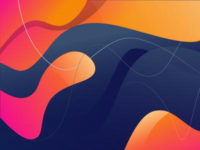 Background for Landing Page In Adobe Illustrator