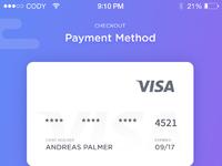 Payme checkout ui design