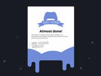 Confirm your account - UI Design