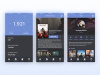 Gameleap App Design - Gaming App