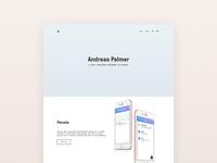 Personal Portfolio - Redesign 2017