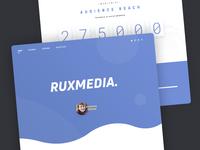 RuxMedia Landing Page