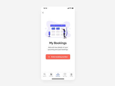 Booking Details & QR Code Interaction details flinto animation travel user my account my bookings confirmation booking confirmation holidu code scanner ux design uidesign scanner code qr booking qr code ux ui