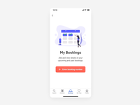 Booking Details & QR Code Interaction
