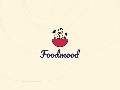 Foodmood Logo Design & Animation app food branding idenity brand animation logo