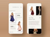 Sherri Hill App Design design uiux mobile app mobile