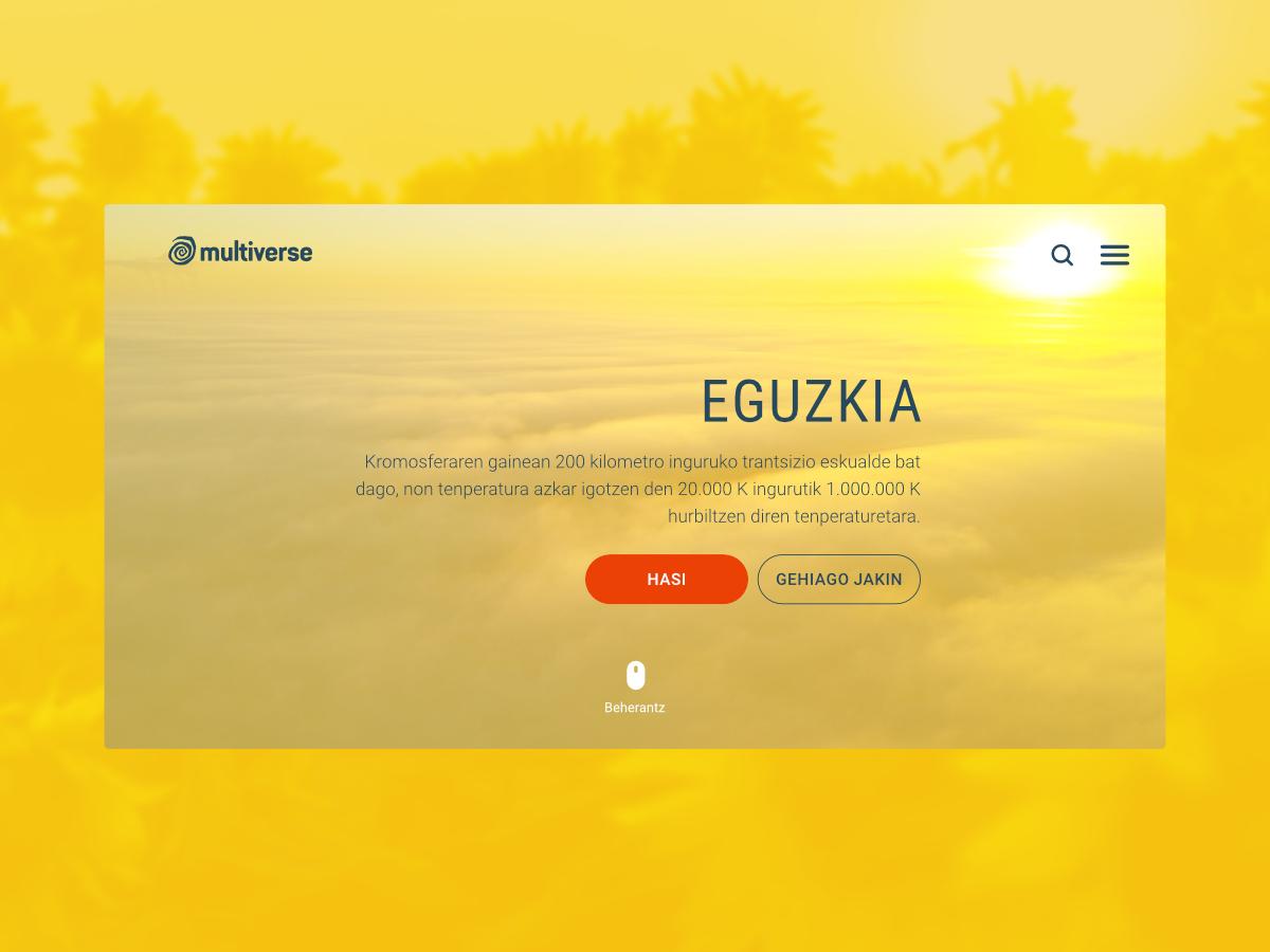 Eguzkia web ui design app
