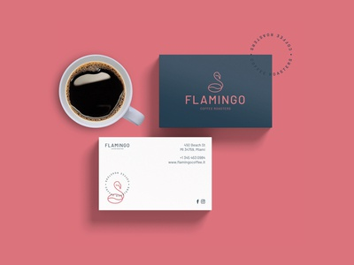 Flamingo Coffee Roasters - Business card