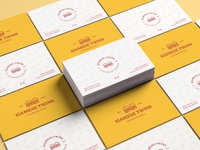 Siamese Twins - Business Card