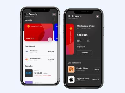 Bank   Mobile App designer bank bank app banking mobile design uidesign design minimal animation mobile app mobile ui application ux ui app