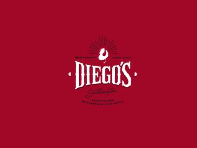 Diego's Restaurant - Logo Design