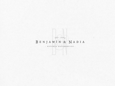 Benjamín & Nadia – Logo Design