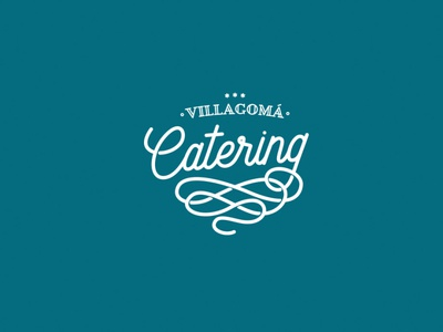 Villagomá Catering – Logo Design