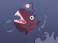 Happy Little Anglerfish