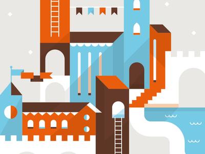 Castle Print Glimpse