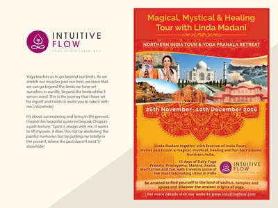 Yoga / Meditation - Poster design asia print design graphic design meditation yoga poster design photoshop design