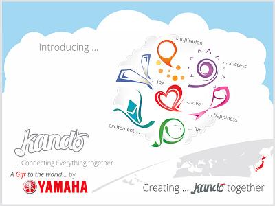Illustration - Yamaha Kando drawing icon photoshop typography logo branding illustration vectorart design