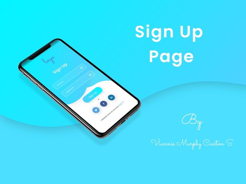 Sign Up uidesign dailyui