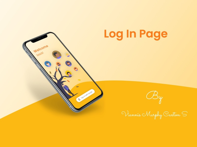 Login Page ui  ux community login page login screen