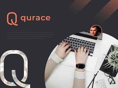 qurace branding consulting project recent project modern branding q logo concept logodesign branding agency q mark q letter logo business corporate abstract morden branding brand identity