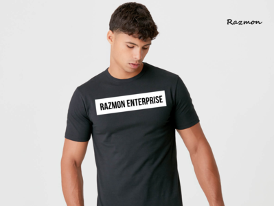 T-shirt Design - Simple and Professional