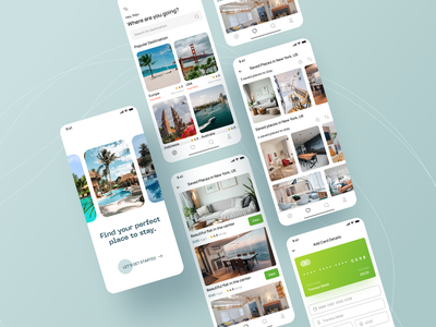 BOOKIE UI KIT ✌️ hotel management buy now product design modern design mobile app design responsive design clean ui restaurant booking ios app design ios app mobile ui uikits uidesign hotel app hotel booking hotel