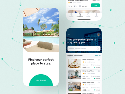 BOOKIE V2 responsive design 2021 trend modern ui clean minimal mobileappdesign travel uiuxdesign ui uiux mobile ui mobile app mobile ui kit interface booking room hotel booking app hotel booking hotel