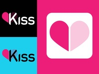 Kiss logo & app icon