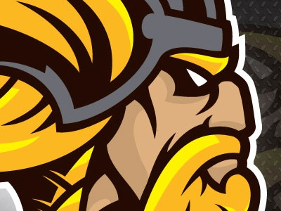 Viking Mascot Recreated viking mascot high school high school mascot viking mascot ink tycoon mike ray