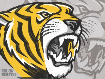 Tiger sketch update