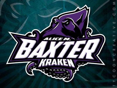 Kraken mascot kraken mascot logo highschool mascot branding vector tycoon creative ink tycoon mike ray