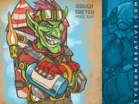 Goblin rough sketch