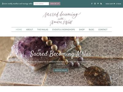 Sacred Becoming Homepage