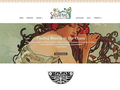 Homepage Design web design