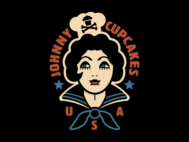 Johnny Cupcakes Sailor tattoo graphic design graphic design graphicdesign illustration vector johnny cupcakes johnnycupcakes