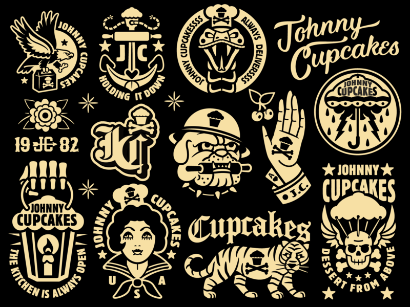 Johnny Cupcakes Throw Blanket flash tattoo skull cupcakes graphic design graphicdesign tattoo design illustration vector johnny cupcakes johnnycupcakes