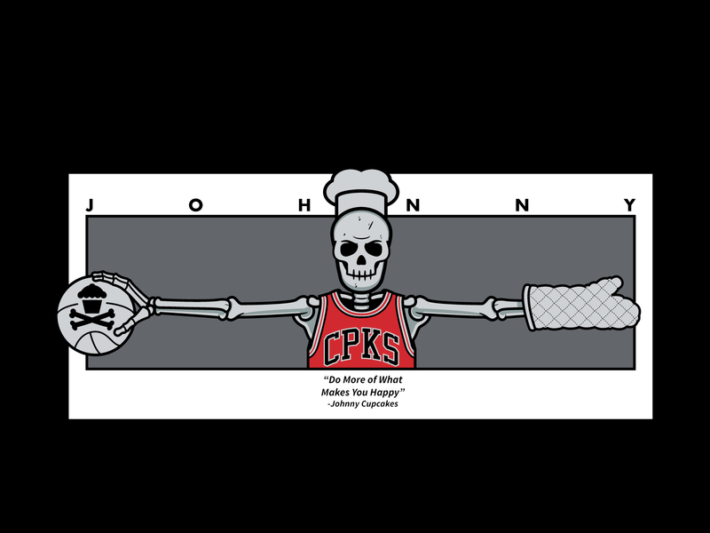 Air Johnny jordans jordan basketball skull graphic cupcakes graphic design graphicdesign design illustration vector johnny cupcakes johnnycupcakes