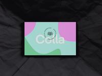 Colla Businesscard cosmetics skincare print business card businesscard modern luxury branding minimal logo