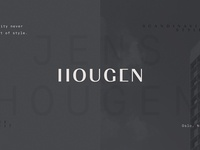 Hougen Arkitekter Logotype