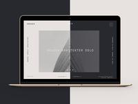 Hougen Arkitekter Web Design