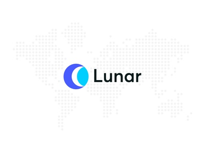 Lunar Full Colour moon crypto currency cryptocurrency crescent coin finance financial ico