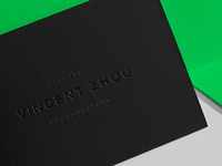 Vincent Zhou Business Card