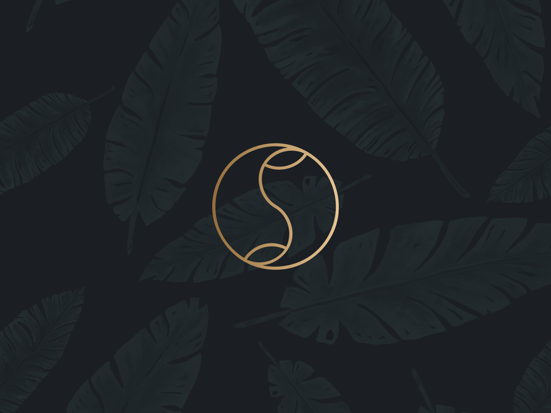 I still see your face.. mother nature gaia leaves natural earth food spices spice high end boutique luxury branding modern minimal logo