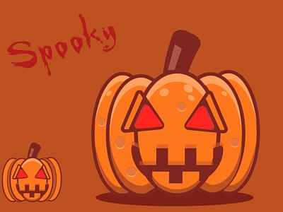 Spooky season, pumpkin season illustration digital art graphic design vector illustrator ill