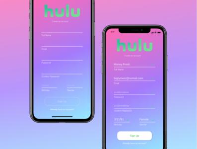 Hulu Springtime Sign Up