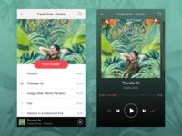 Daily UI #009 –Music Player