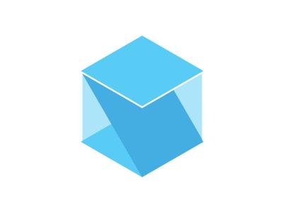 Initials 2 m s initials logo branding mark geometry cube ms personal geometric simple