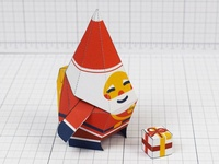 Nice Santa Paper Toy