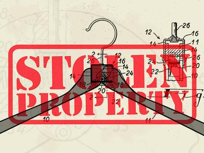 Video Thumbnail - Coat Hanger History of Design patent coat hanger thumbnail video history