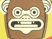Papertoy Monkey Concept